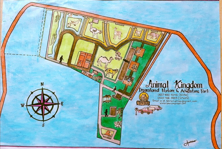 Dreamland Nature and Adventure Park Map
